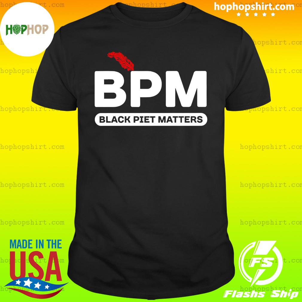 BPM Black Piet Matters Shirt
