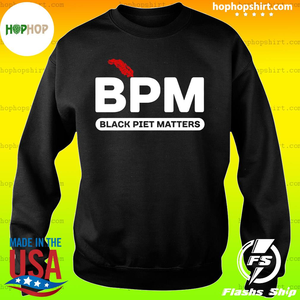 BPM Black Piet Matters Shirt Sweater