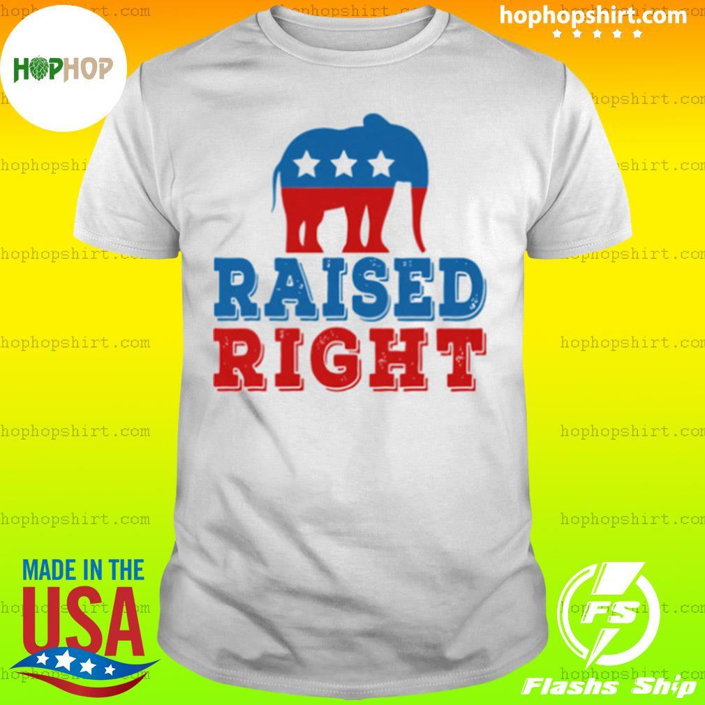 Elephant Raised Right shirt