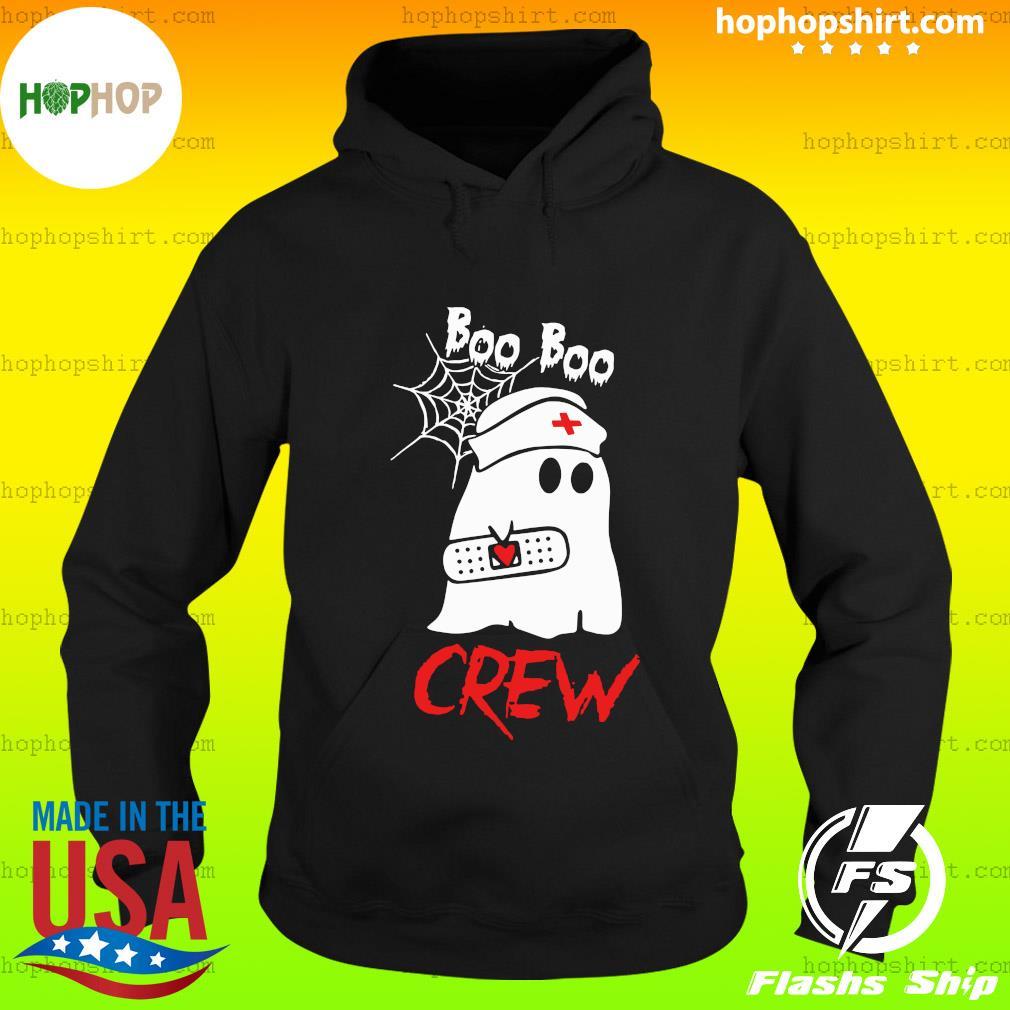 Funny Boo Boo Crew Nurse Halloween T-Shirt Hoodie