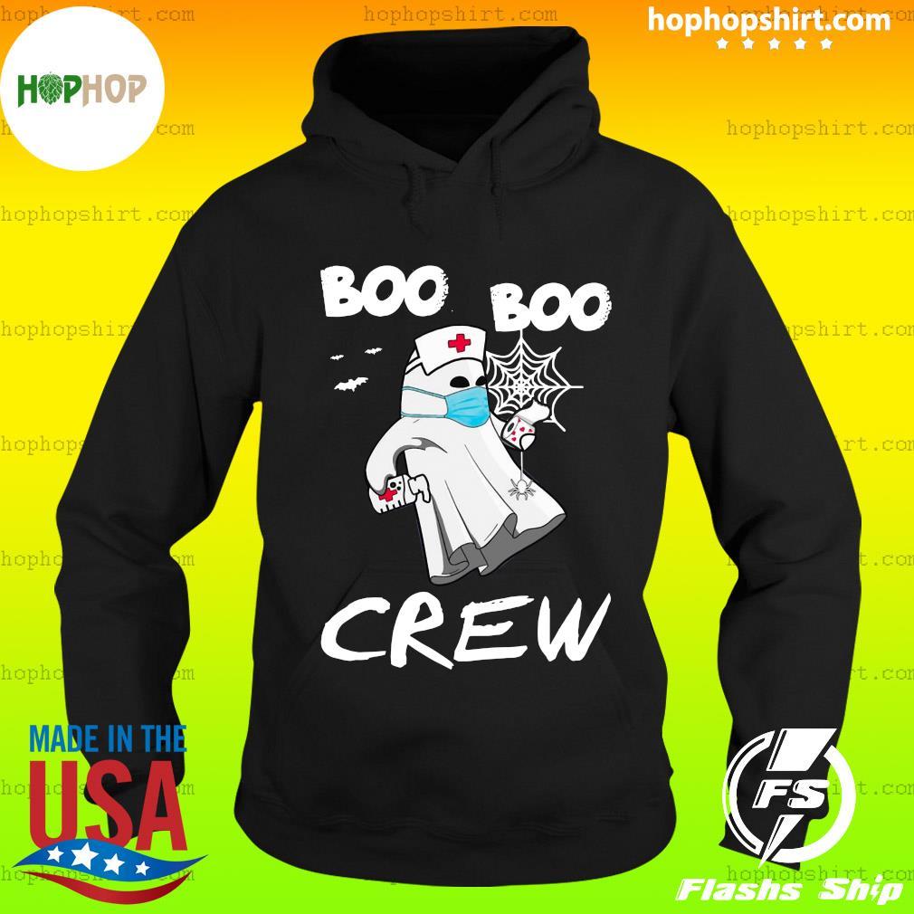 Funny Nurse Halloween Boo Boo crew, ghost holding toilet paper halloween s Hoodie