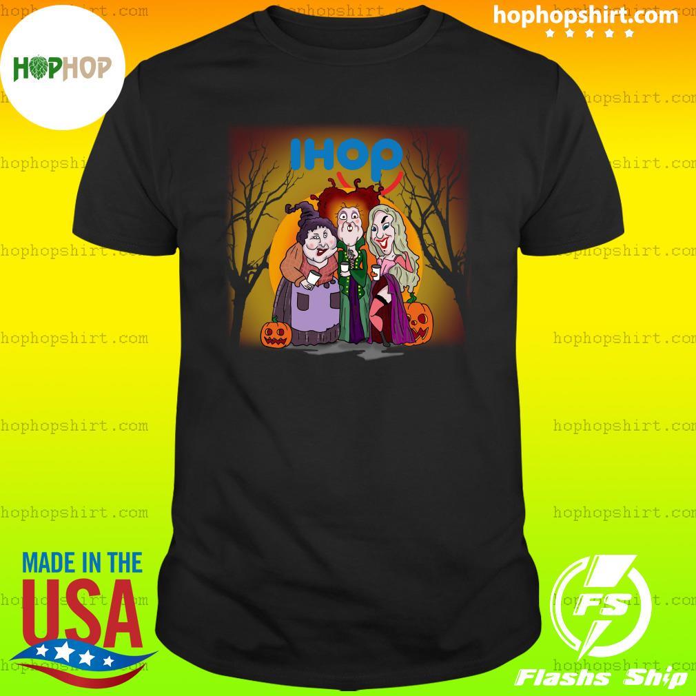 Hocus Pocus Sanderson Sisters Ihop Halloween Pumpkin Shirt