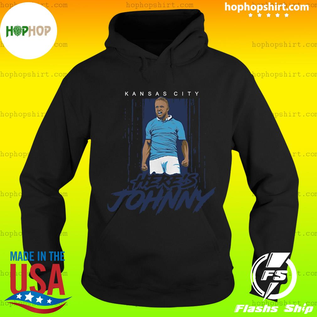 Johnny Russell Here's Johnny KC Shirt Hoodie