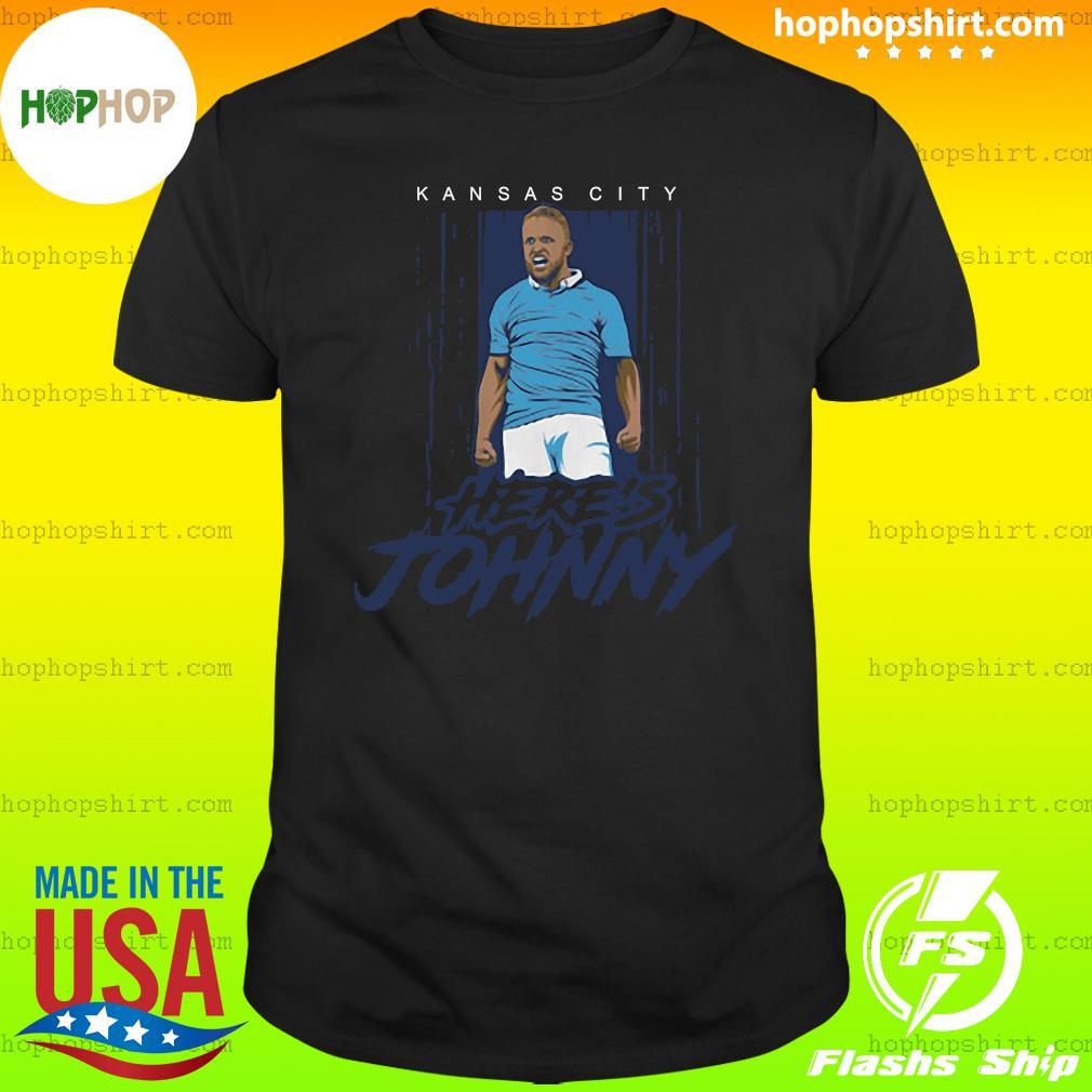 Johnny Russell Here's Johnny KC Shirt