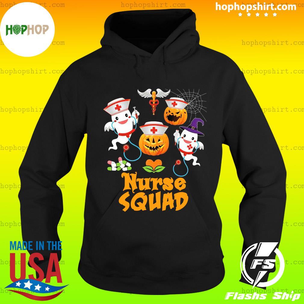 Nurse Squad Team Crew Cute Pumpkin Ghost Witch Boo Halloween Fall Witch, Boo Boo Crew Cute Nurse Ghost Halloween Nursing Shirt Hoodie