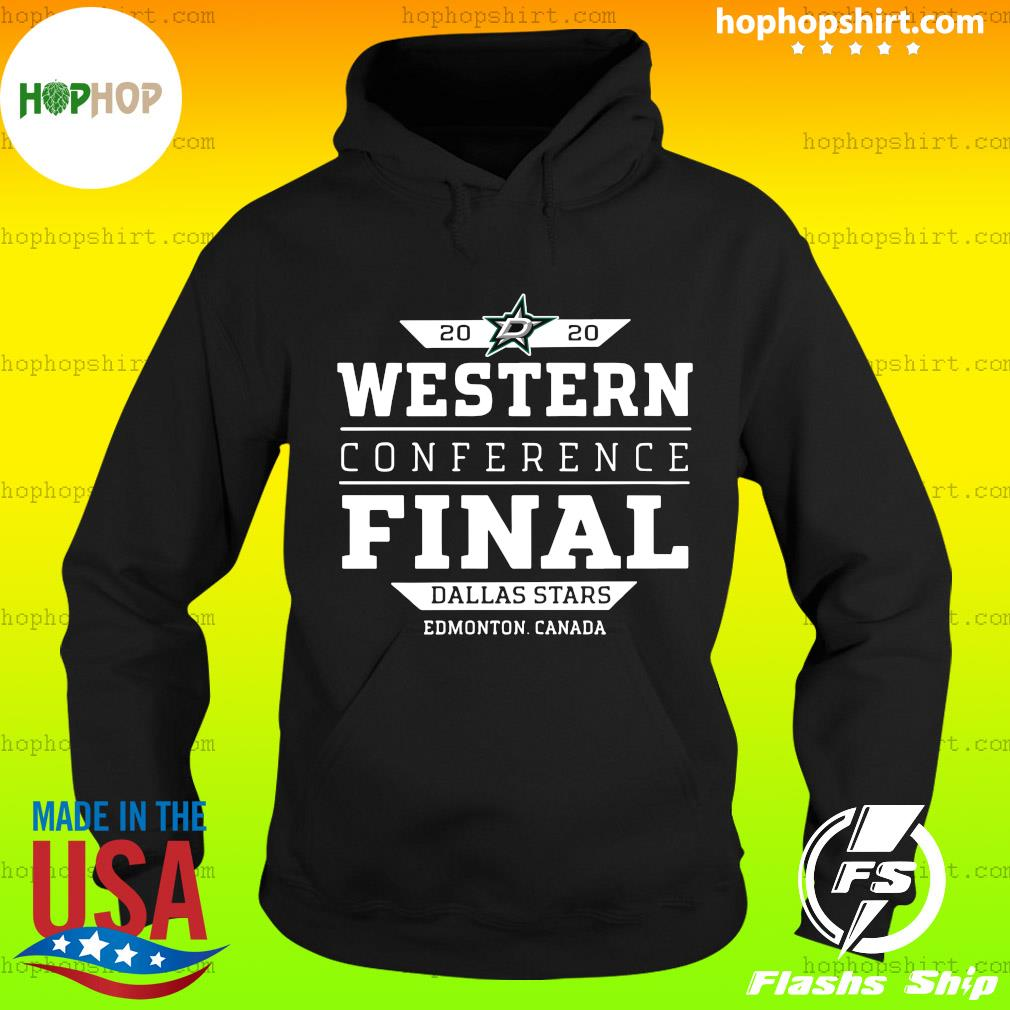 Official Dallas Stars 2020 Western Conference Final Edmonton Canada Shirt Hoodie