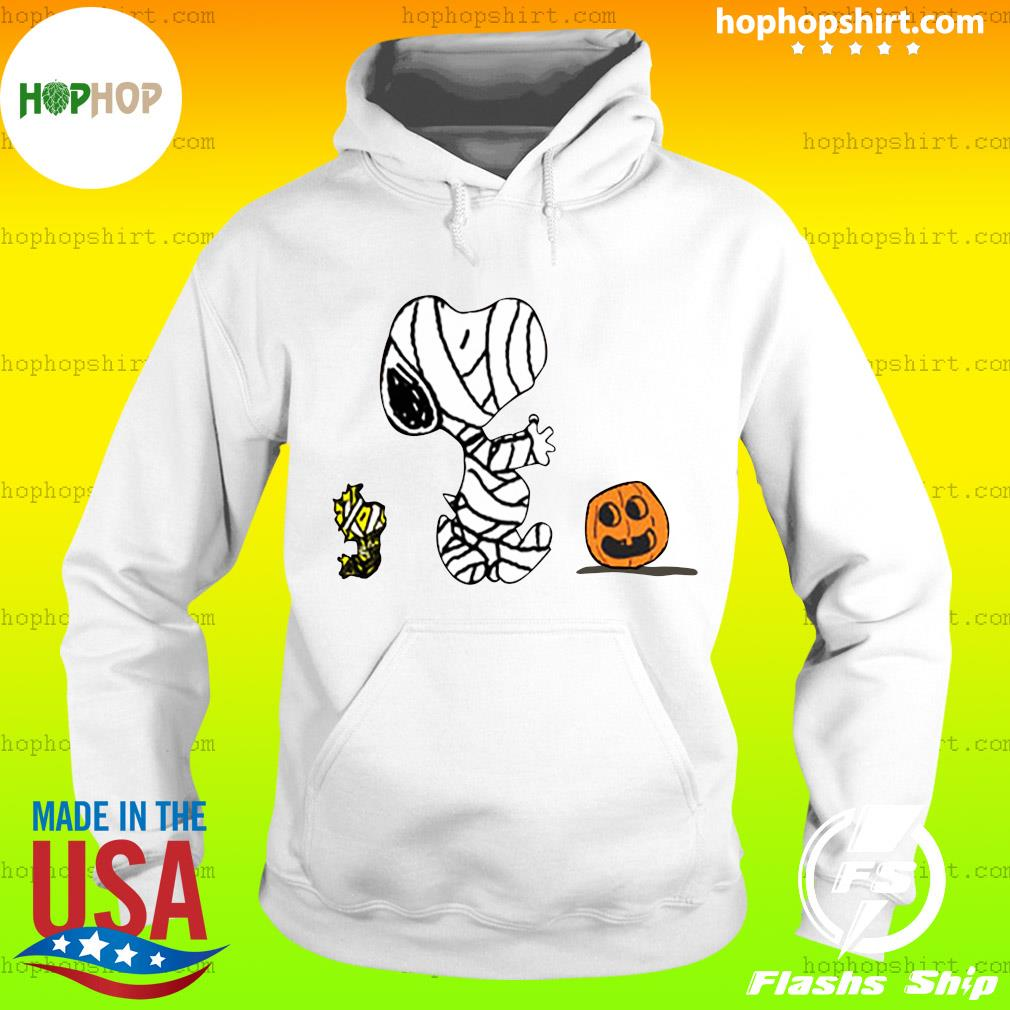 Snoopy Mummies and Woodstock pumpkin Halloween s Hoodie