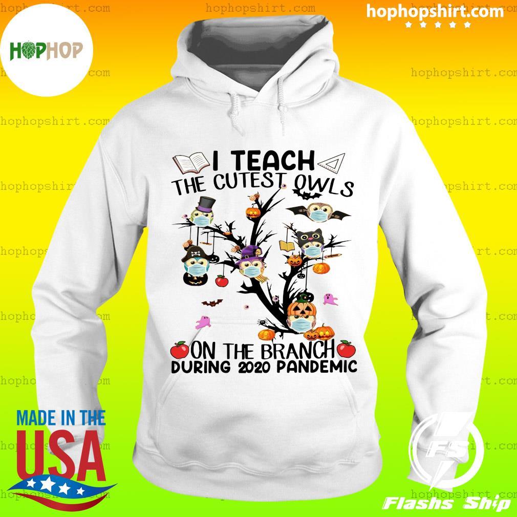 Teacher Teach The Cutest Owls Halloween 2020 School Tree Classic Shirt Hoodie