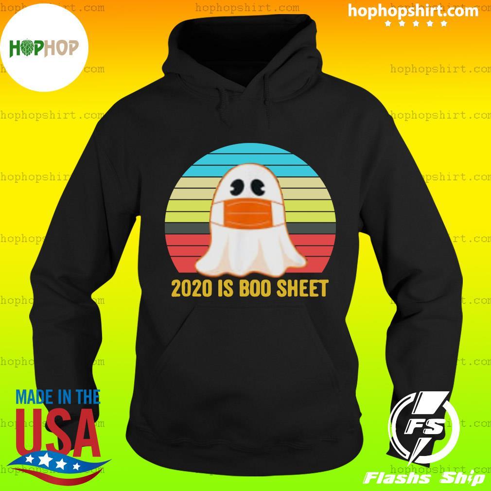 Vintage 2020 Boo Sheet Funny Ghost in Mask Vintage Halloween Costume T-Shirt Hoodie