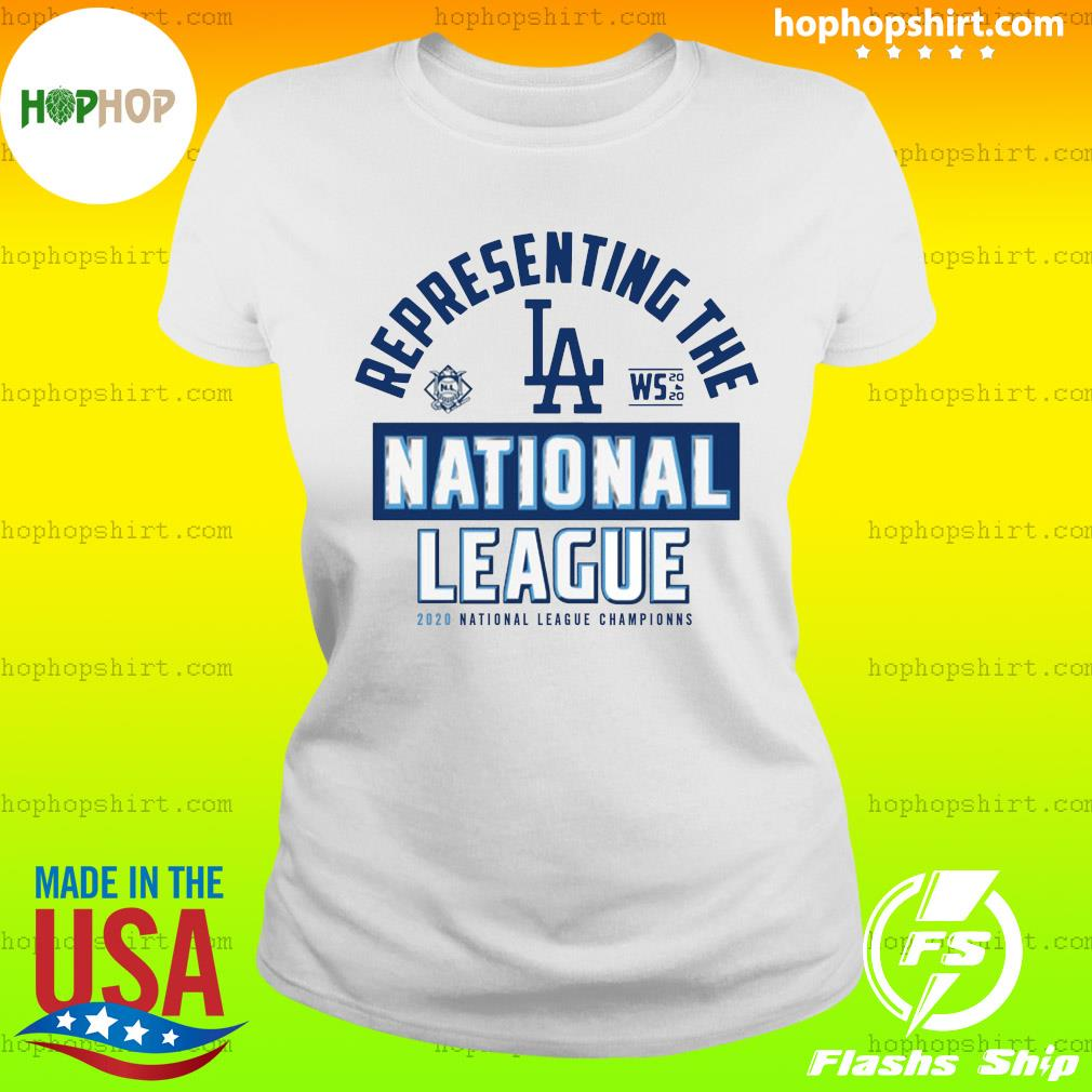 Dodgers NL West Champs 2020 Shirt Ladies Tee