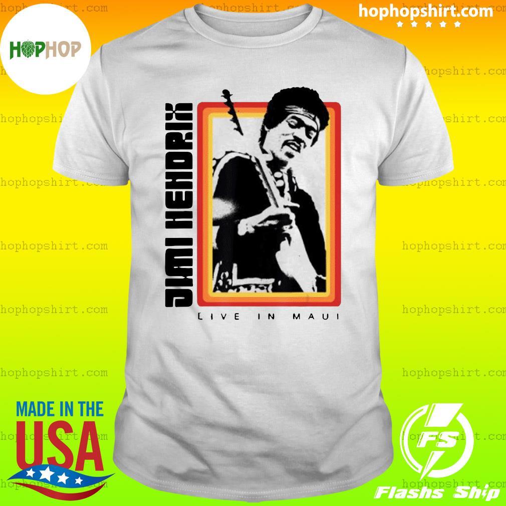 Jimi Hendrix Live in Maui Shirt