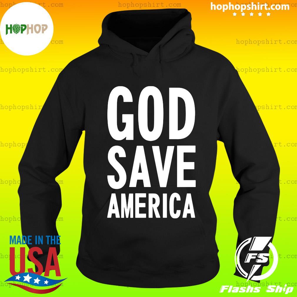 Kanye West God Save America Shirt Hoodie