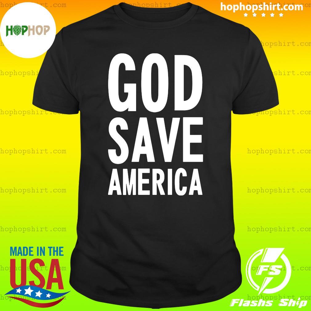 Kanye West God Save America Shirt
