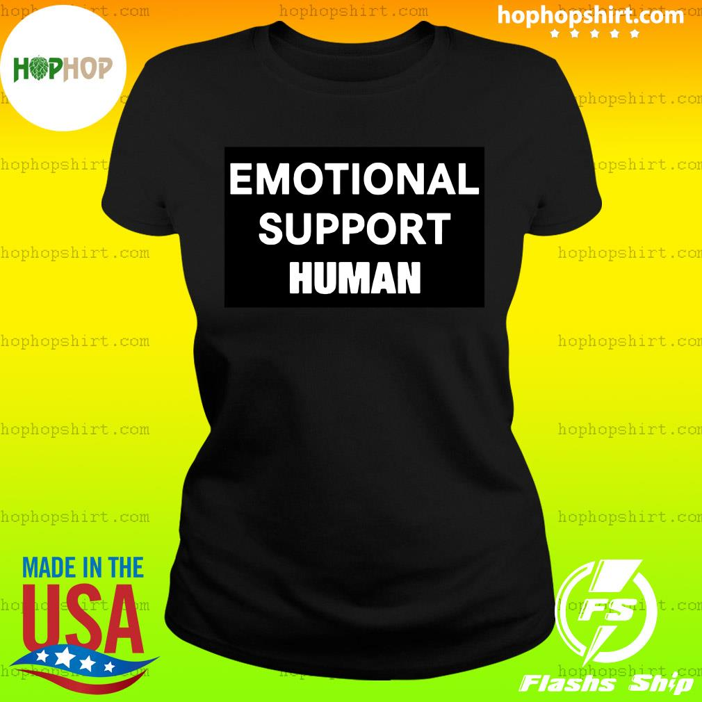 Macaulay Culkin Emotional Support Human Shirt Ladies Tee