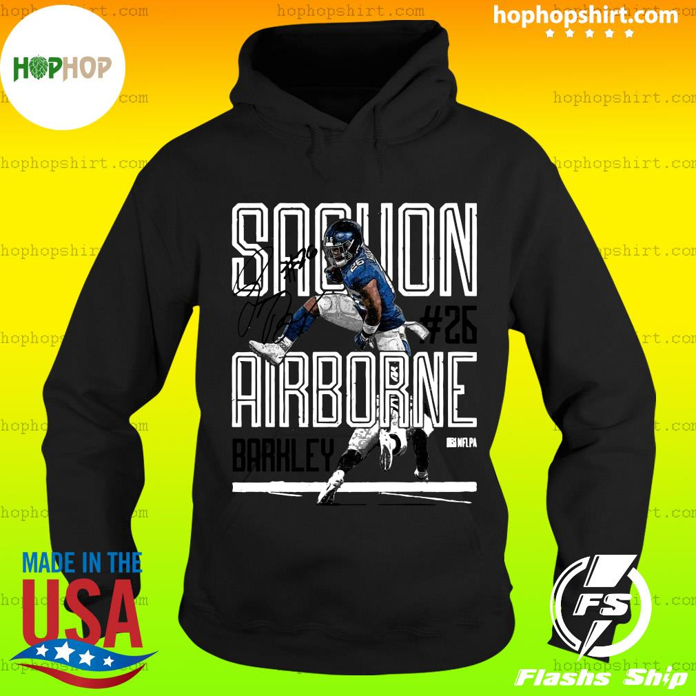 Men's Saquon Barkley Airbourne Shirt Hoodie