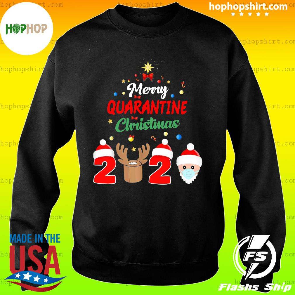 Merry Quarantine Christmas 2020 Xmas Pajamas Holidays Sweatshirt