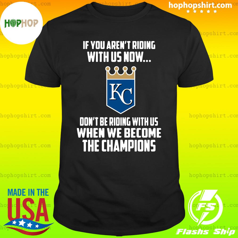 MLB Kansas City Royals Baseball We Become The Champions 2020 T-Shirt