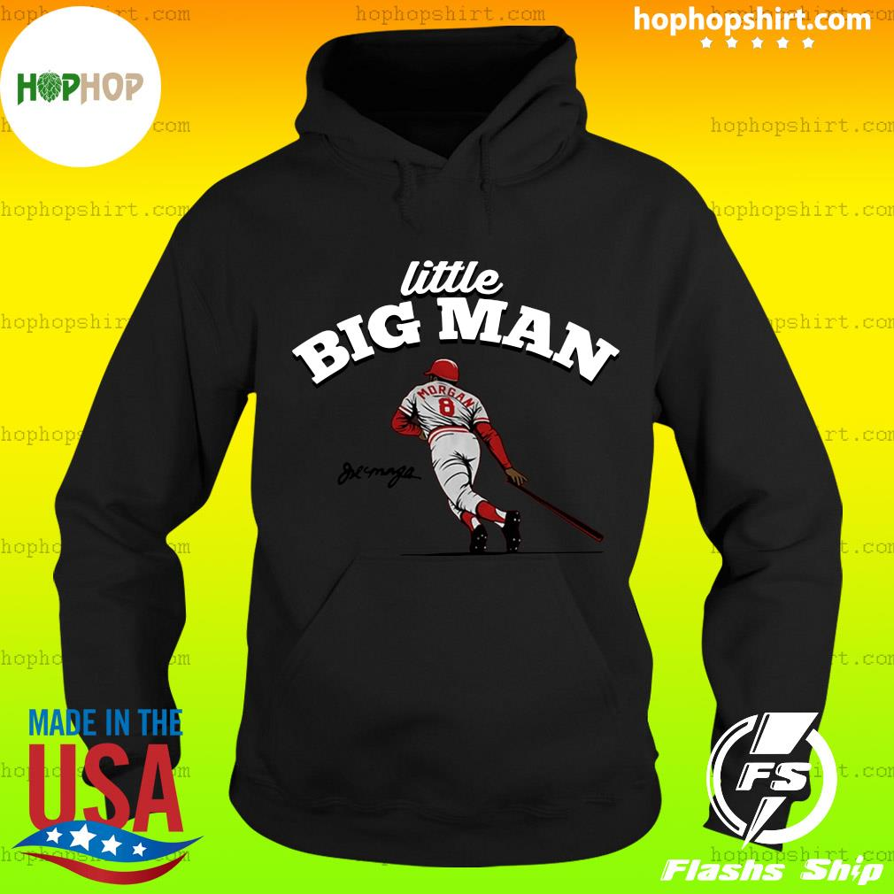 Official Joe Morgan Little Big Man Cincy T-Shirt Hoodie