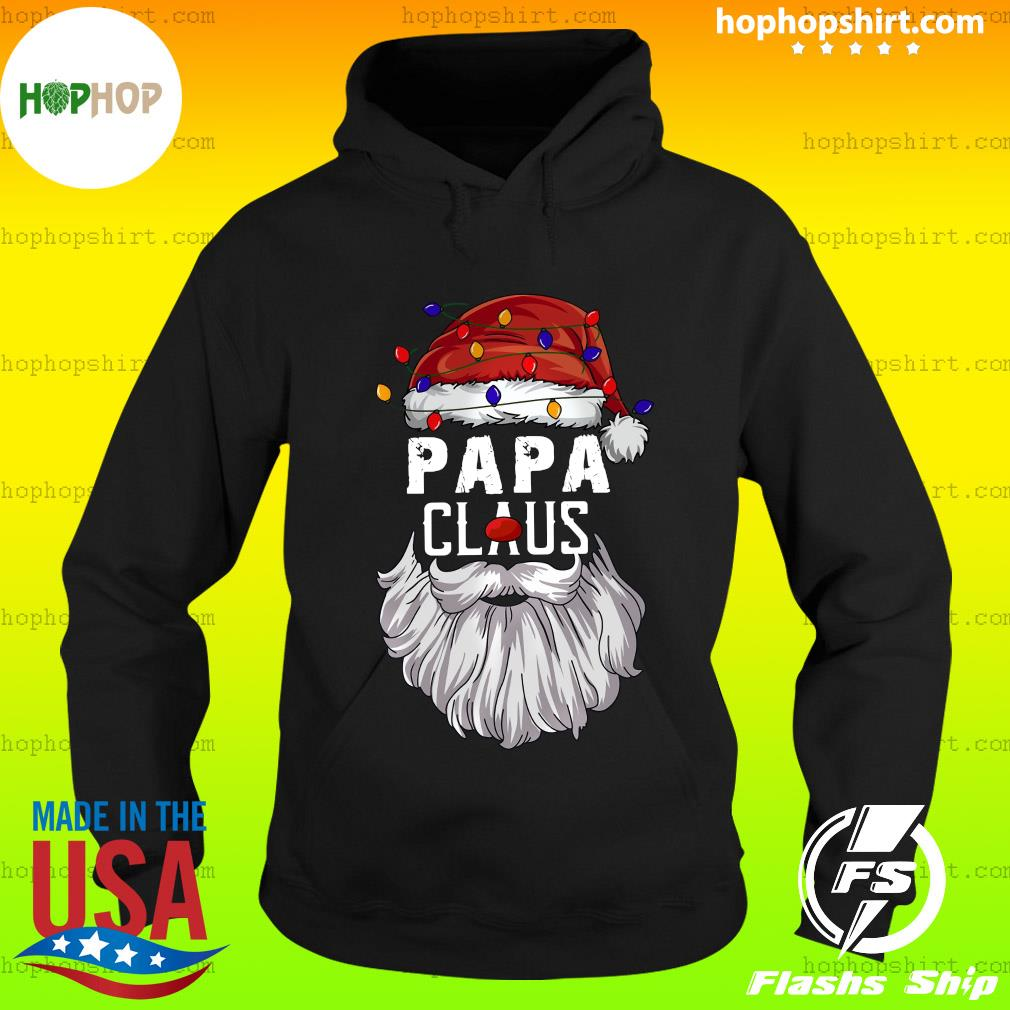 Papa Claus Merry Christmas Sweats Hoodie