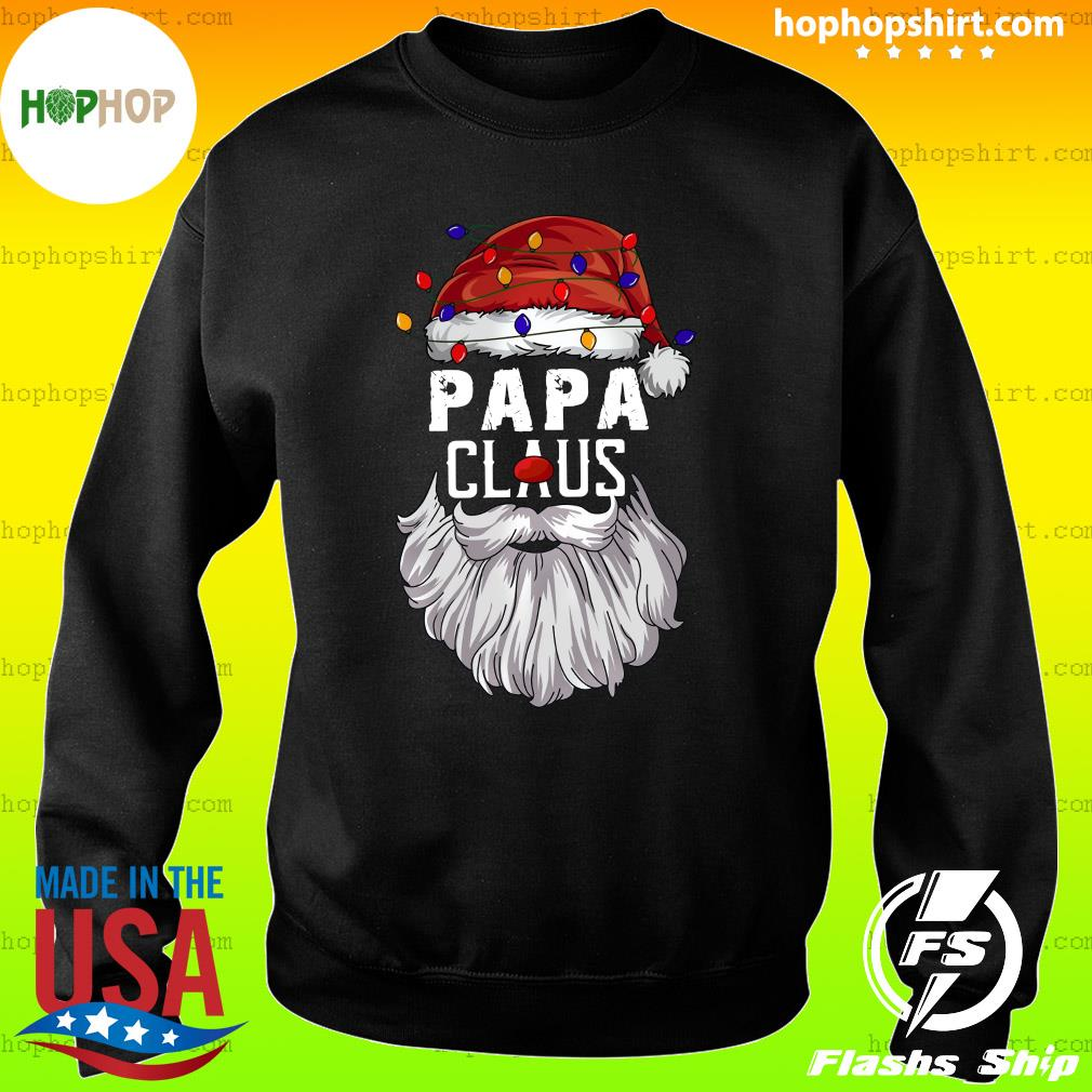 Papa Claus Merry Christmas Sweatshirt