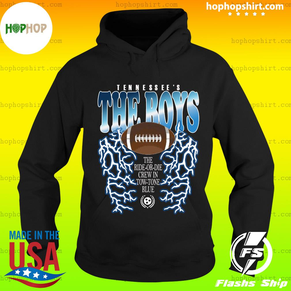 Tennessee's The Boys Lightning Shirt Hoodie