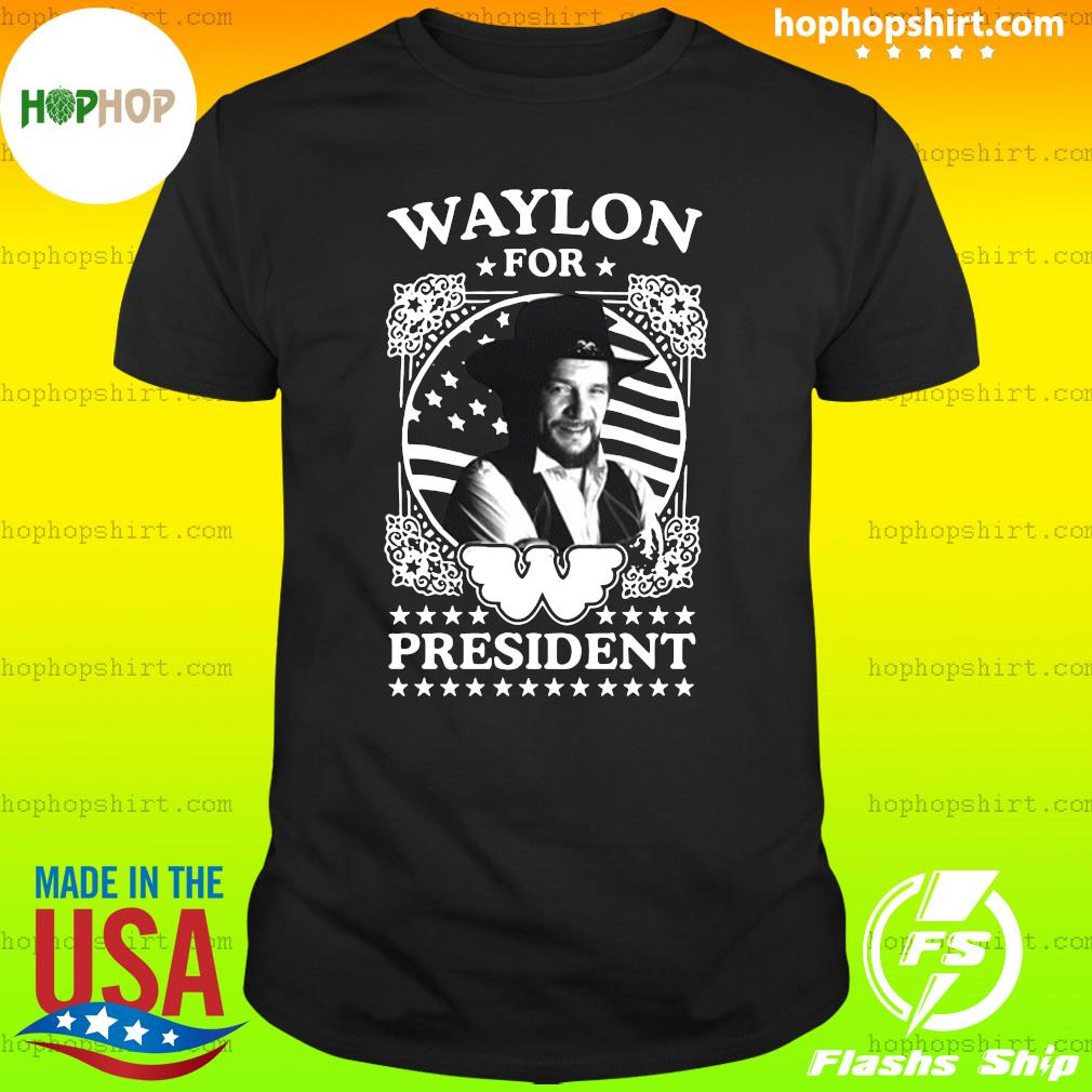 Waylon for president US Flag T-Shirt