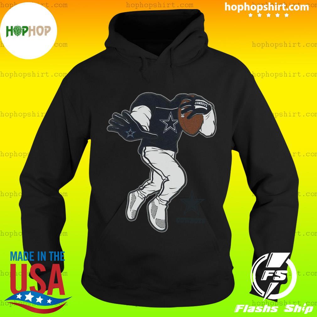 Official Dallas Cowboys Toddler Yard Rush II T-Shirt Hoodie