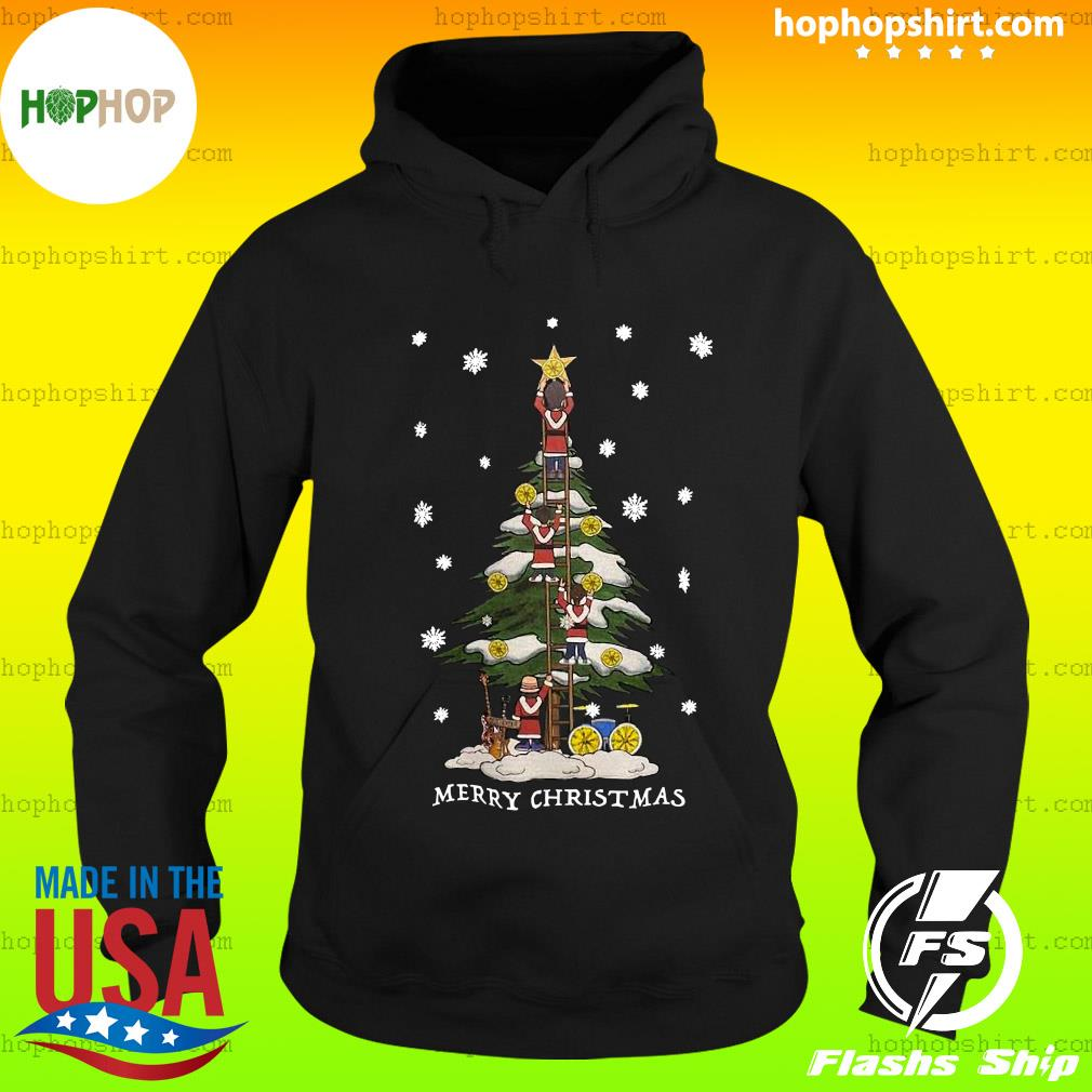 The Stone Roses Merry Christmas Tree Sweats Hoodie
