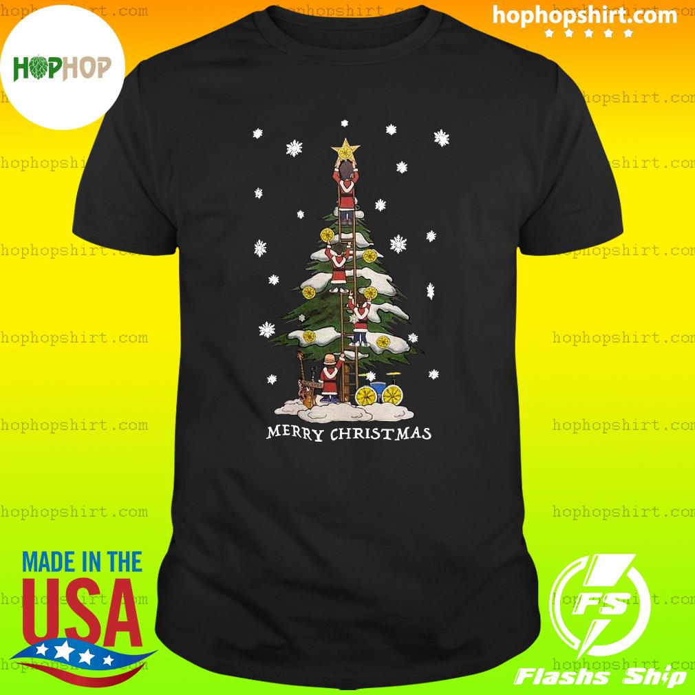 The Stone Roses Merry Christmas Tree Sweats Shirt
